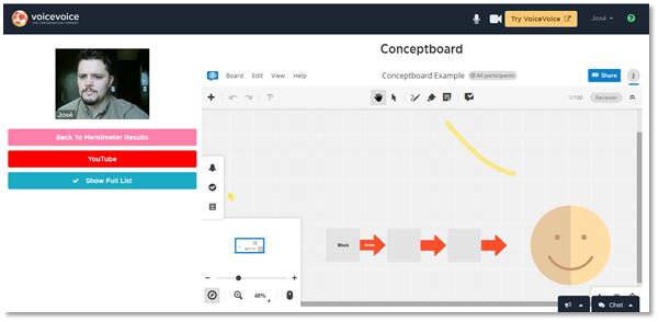 VoiceVoice + Conceptboard Third Party App Integration
