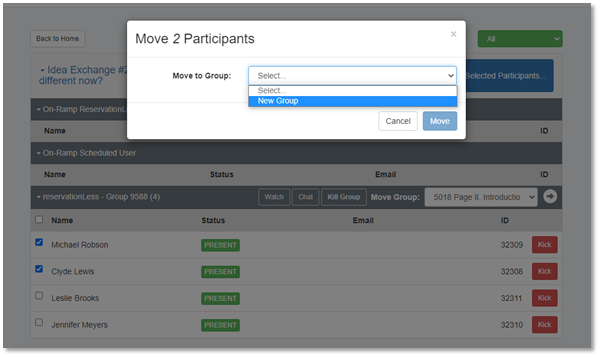 Invisibly Monitor Your Breakout Groups